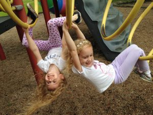 kids at the park in anderson township
